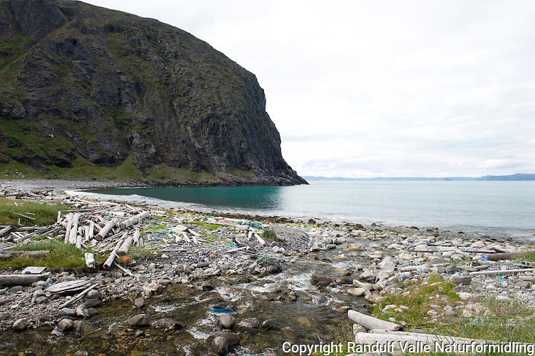 Rekvika på Sværholthalvøya. ---- From Rekvika on the Sværholt peninsula.