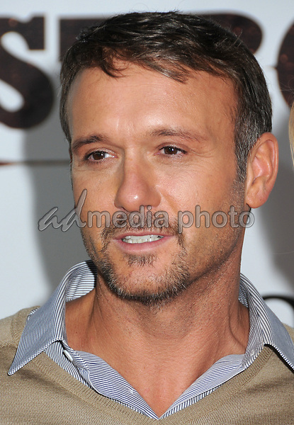 "08 November 2010 - Nashville, TN - Tim McGraw. ""Country Strong"" World Premiere held at the Green Hills Cinema. Photo Credit: Laura Farr/AdMedia"