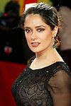"Actress SALMA HAYEK arrives for the screening of the film ""As Luck Would Have It"" at the 62nd International Film Festival Berlinale."
