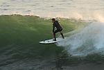 surfing Santa Cruz