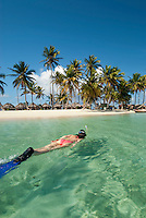 Snorkeling in the San Blas Islands, Panama