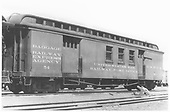 #54 combined baggage &amp; RPO car.<br /> D&amp;RGW