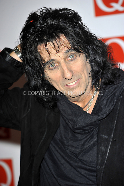 WWW.ACEPIXS.COM....US Sales Only....October 22 2012, London....Alice Cooper at The Q Awards held at Grosvenor House on October 22 2012 in London ....By Line: Famous/ACE Pictures......ACE Pictures, Inc...tel: 646 769 0430..Email: info@acepixs.com..www.acepixs.com