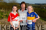 Kaitlyn Horan,Mary Fitzmorris and Ava Fitzmorris at the Kilmurry NS 5km Fun Run on Friday