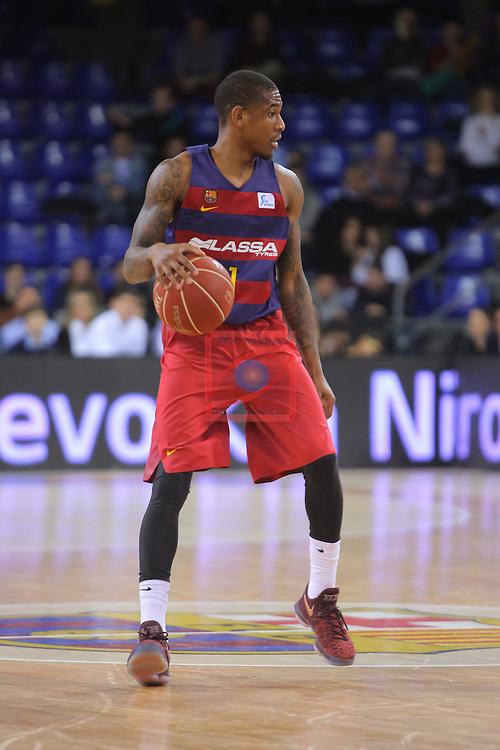 League ACB-ENDESA 2016/2017 - Game: 21.<br /> FC Barcelona Lassa vs ICL Manresa: 92-72.<br /> Xabier Munford.
