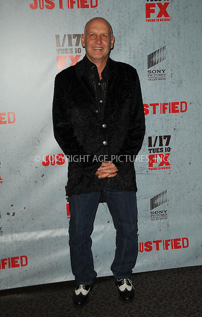 WWW.ACEPIXS.COM . . . . .  ....January 10 2012, LA....Actor Nick Searcy arriving at the premiere of 'Justified' Season 3 at the Directors Guild of America on January 10, 2012 in Los Angeles, California.....Please byline: PETER WEST - ACE PICTURES.... *** ***..Ace Pictures, Inc:  ..Philip Vaughan (212) 243-8787 or (646) 679 0430..e-mail: info@acepixs.com..web: http://www.acepixs.com