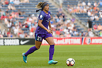 Bridgeview, IL - Saturday July 22, 2017: Monica Hickmann Alves during a regular season National Women's Soccer League (NWSL) match between the Chicago Red Stars and the Orlando Pride at Toyota Park. The Red Stars won 2-1.