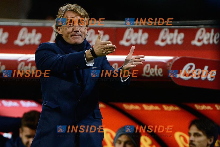 Roberto Mancini Inter<br /> Milano 15-03-2015 Stadio Giuseppe Meazza - Football Calcio Serie A Inter - Cesena. Foto Giuseppe Celeste / Insidefoto