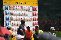 Lee Westwood (ENG) leads the field by three shots during the Final Round of the 2014 Maybank Malaysian Open at the Kuala Lumpur Golf & Country Club, Kuala Lumpur, Malaysia. Picture:  David Lloyd / www.golffile.ie