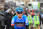 Nick Nuyens (BEL) Garmin Sharp makes his way to the start of the 56th edition of the E3 Harelbeke, Belgium, 22nd  March 2013 (Photo by Eoin Clarke 2013)