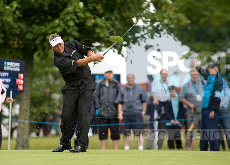 Jul 12 2009; Loch Lomond Scotland; Darren Clarke (GBR) competing in the final round of the PGA European Tour Barclays Scottish Open golf tournament.