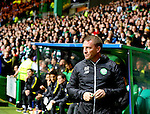 Brendan Rogers manager of Celtic during the Champions League Group C match at the Celtic Park Stadium, Glasgow. Picture date: September 28th, 2016. Pic Simon Bellis/Sportimage