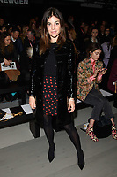 Julia Restoin Roitfeld at the Marta Jakubowski show during London Fashion Week AW18, at the Freemasons' Hall in London, UK. <br /> 16 February  2018<br /> Picture: Steve Vas/Featureflash/SilverHub 0208 004 5359 sales@silverhubmedia.com