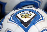 HOOVER, AL - DECEMBER 07, 2012:  Official ball during an NCAA 2012 Men's College Cup semi-final match, at Regents Park, in Hoover , AL, on Friday, December 07, 2012. The game ended in a 4-4 tie, after overtime Georgetown won on penalty kicks.