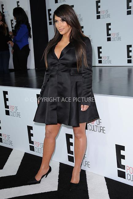WWW.ACEPIXS.COM . . . . . .April 22, 2013...New York City....Kim Kardashian attends the E! 2013 Upfront at The Grand Ballroom at Manhattan Center on April 22, 2013in New York City.....Please byline: KRISTIN CALLAHAN - WWW.ACEPIXS.COM.. . . . . . ..Ace Pictures, Inc: ..tel: (212) 243 8787 or (646) 769 0430..e-mail: info@acepixs.com..web: http://www.acepixs.com .