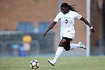 21 August 2016: North Carolina's Ru Mucherera. The University of North Carolina Tar Heels hosted the University of North Carolina Charlotte 49ers in a 2016 NCAA Division I Women's Soccer match. UNC won the game 3-0