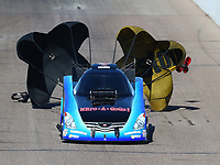 Feb 25, 2018; Chandler, AZ, USA; NHRA funny car driver Jeff Diehl during the Arizona Nationals at Wild Horse Pass Motorsports Park. Mandatory Credit: Mark J. Rebilas-USA TODAY Sports