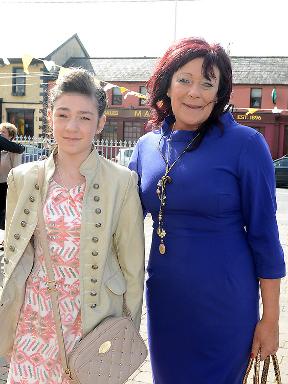 Kayleigh Murphy who was confirmed at the Church of Mary Immaculate Collon pictured with mam Yvonne. Photo:Colin Bell/pressphotos.ie