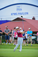 Jiyai Shin (KOR) watches her tee shot on 10 during Friday's round 2 of the 2017 KPMG Women's PGA Championship, at Olympia Fields Country Club, Olympia Fields, Illinois. 6/30/2017.<br /> Picture: Golffile | Ken Murray<br /> <br /> <br /> All photo usage must carry mandatory copyright credit (&copy; Golffile | Ken Murray)