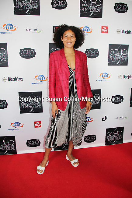 -  Seeing is Believing: Women Direct at its East Coast Premiere at Soho International Film Festival on June 19, 2017 in New York City, New York.(Photos by Sue Coflin/Max Photos) Naima Ramos-Chapman
