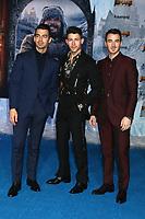 "LOS ANGELES - DEC 9:  Joe Jonas, Nick Jonas, Kevin Jonas at the ""Jumanji:  The Next Level"" Premiere at TCL Chinese Theater IMAX on December 9, 2019 in Los Angeles, CA"