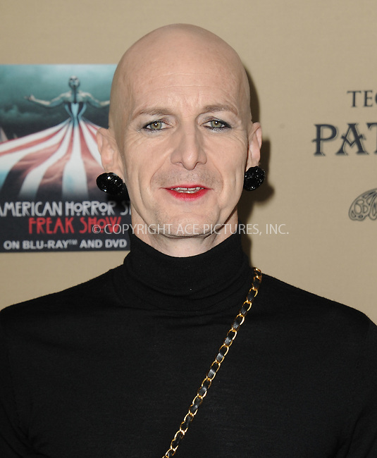 WWW.ACEPIXS.COM<br /> <br /> October 3 2015, LA<br /> <br /> Denis O'Hare arriving at the premiere of FX's 'American Horror Story: Hotel' at the Regal Cinemas L.A. Live on October 3, 2015 in Los Angeles, California.<br /> <br /> <br /> By Line: Peter West/ACE Pictures<br /> <br /> <br /> ACE Pictures, Inc.<br /> tel: 646 769 0430<br /> Email: info@acepixs.com<br /> www.acepixs.com