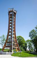Germany; Free State of Thuringia, Burgk: Saale Tower | Deutschland, Thueringen, Burgk: der Saaleturm im thueringischen Vogtland