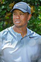 Tiger Woods (USA) speaks during a post round interview following his round 3 of The Players Championship, TPC Sawgrass, at Ponte Vedra, Florida, USA. 5/12/2018.<br /> Picture: Golffile | Ken Murray<br /> <br /> <br /> All photo usage must carry mandatory copyright credit (&copy; Golffile | Ken Murray)