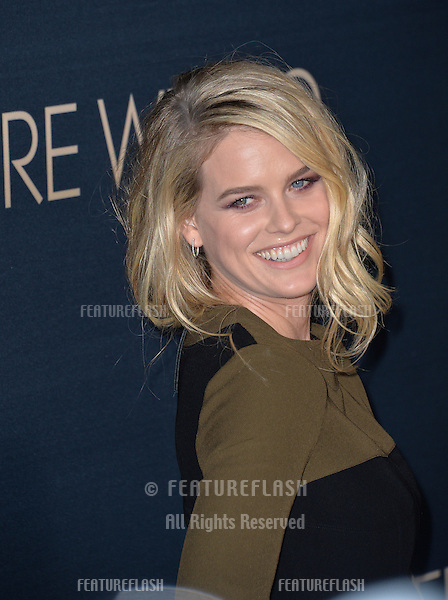 Alice Eve at the Los Angeles premiere of her movie &quot;Before We Go&quot; at the Arclight Theatre, Hollywood.<br /> September 2, 2015  Los Angeles, CA<br /> Picture: Paul Smith / Featureflash