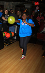 "One Life To Live Shenell Edmonds ""Destiny"" bowls at 9th Annual Daytime Stars & Strikes Charity Event to benefit The American Cancer Society on October 7, 2012 at Bowlmor Lanes Times Square, New York City, New York.  (Photo by Sue Coflin/Max Photos)"