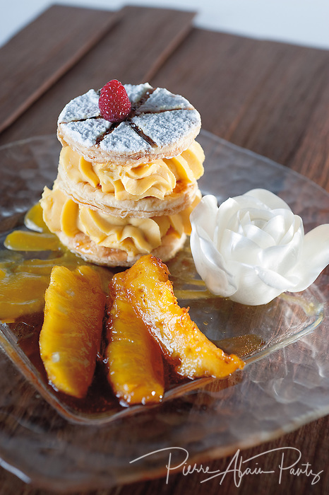 mille feuille ananas