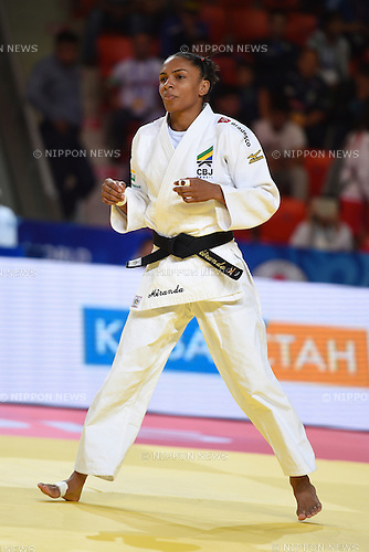 Erika Miranda (BRA), AUGUST 25, 2015 - Judo : World Judo Championships Astana 2015 Women's -52kg quarterfinal at Alau Ice Palace in Astana, Kazakhstan. (Photo by AFLO SPORT)