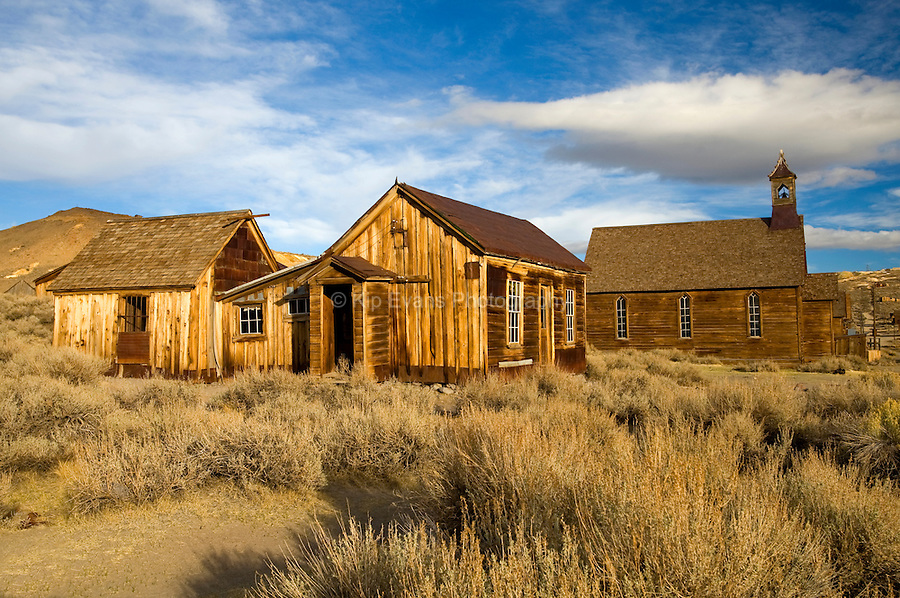 Bodie Historic Ghost Town, near Mono Lake CA, Eastern Sierra