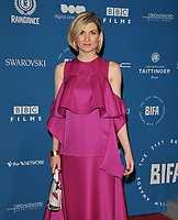 Jodie Whittaker at the British Independent Film Awards (BIFA) 2018, Old Billingsgate Market, Lower Thames Street, London, England, UK, on Sunday 02 December 2018.<br /> CAP/CAN<br /> &copy;CAN/Capital Pictures