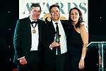 © Joel Goodman - 07973 332324 . 01/03/2018 . Manchester , UK . Team of the Year – Regulatory winner is Mills & Reeve . The Manchester Evening News Legal Awards at the Midland Hotel in Manchester City Centre . Photo credit : Joel Goodman