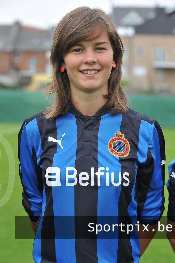 Club Brugge Dames : Charlotte Laridon.foto DAVID CATRY / Vrouwenteam.be