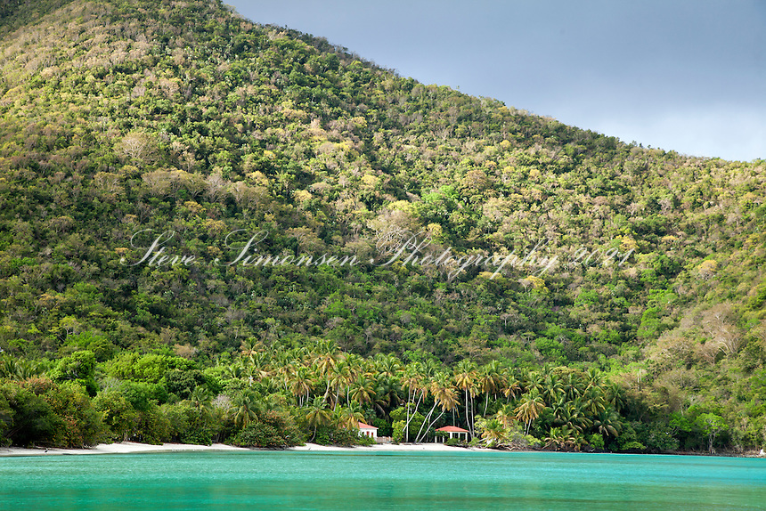 Maho Bay, Virgin Islands National Park.St. John.U.S. Virgin Islands