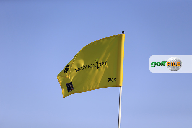 A Players flag during round 3 of the Players, TPC Sawgrass, Championship Way, Ponte Vedra Beach, FL 32082, USA. 13/05/2016.<br /> Picture: Golffile | Fran Caffrey<br /> <br /> <br /> All photo usage must carry mandatory copyright credit (&copy; Golffile | Fran Caffrey)