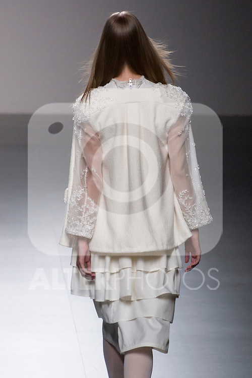 04.09.2012. Models walk the runway in the Victor Von Schwarz fashion show during the EGO Mercedes-Benz Fashion Week Madrid Spring/Summer 2013 at Ifema. (Alterphotos/Marta Gonzalez)