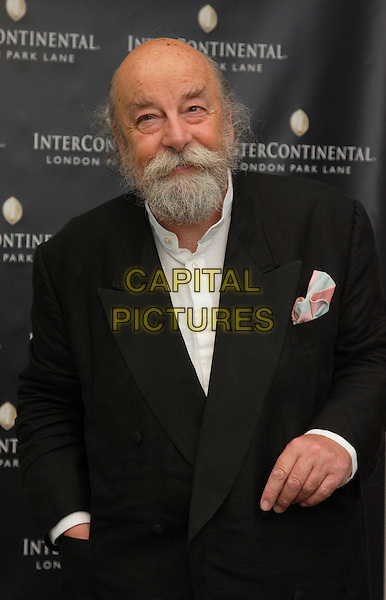 SIR ROY ACKERMAN .InterContinental London Park Lane re-launch, London, England..May 17th, 2007 .half length black suit jacket beard facial hair .CAP/ROS.©Steve Ross/Capital Pictures