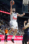 Real Madrid's Sergio Llull during Euroleague, Regular Season, Round 29 match. March 31, 2017. (ALTERPHOTOS/Acero)