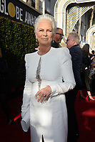Jamie Lee Curtis arrives at the 76th Annual Golden Globe Awards at the Beverly Hilton in Beverly Hills, CA on Sunday, January 6, 2019.<br /> *Editorial Use Only*<br /> CAP/PLF/HFPA<br /> Image supplied by Capital Pictures