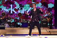 BELO HORIZONTE, MG, 09.04.2019- MINAS-TREND - Modelo durante desfile da grife Skazi, ao som da banda Jota Quest, do vocalista Rogério Flausino, na 24ª edição, do Minas Trend - primavera verão 2020, no Expominas, em Belo Horizonte (MG), nesta terça-feira, 09. (Foto: Doug Patricio/Brazil Photo Press/Folhapress)