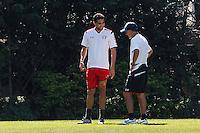 SÃO PAULO,SP, 07.08.2015 - FUTEBOL-SAO PAULO - Juan Carlos Ozorio e Alan Kardec durante o treino do São Paulo no Centro de Treinamento na Barra Funda zona oeste, nesta sexta-feira, 7. (Foto: Douglas Pingituro/Brazil Photo Press)