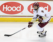 Carl Sneep (BC - 7) - The Boston College Eagles defeated the Northeastern University Huskies 5-1 on Saturday, November 7, 2009, at Conte Forum in Chestnut Hill, Massachusetts.