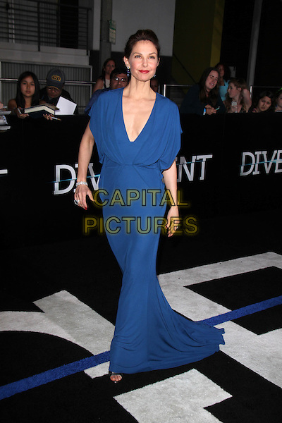 WESTWOOD, CA - March 18: Ashley Judd at the &quot;Divergent&quot; Los Angeles Premiere, Regency Bruin Theatre, Westwood,  March 18, 2014. <br /> CAP/MPI/JO<br /> &copy;Janice Ogata/MediaPunch/Capital Pictures