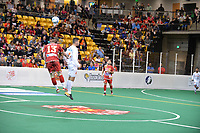 Keeping their home undefeated record in tact, the Baltimore Blast clinch #1 seed in Eastern Conference as they defeat Florida Tropics 8-7 in OT at SECU Arena in Towson on Saturday night.