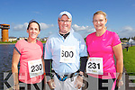 from left Darragh Stephenson,Paul Stephenson and Suzanne Chute  pictured at the Rose of Tralee International 10k Race in Tralee on Sunday.