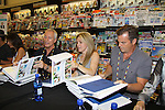 """Days Of Our Lives - Wally Kurth, Melissa Reeves, Greg Meng (co-executive producer and author of this book) meet the fans as they sign """"Days Of Our Lives Better Living"""" on September 27, 2013 at Books-A-Million in Nashville, Tennessee. (Photo by Sue Coflin/Max Photos)"""