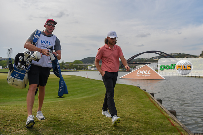 Tommy Fleetwood (ENG) heads to the tee on 14 during day 2 of the WGC Dell Match Play, at the Austin Country Club, Austin, Texas, USA. 3/28/2019.<br /> Picture: Golffile | Ken Murray<br /> <br /> <br /> All photo usage must carry mandatory copyright credit (© Golffile | Ken Murray)